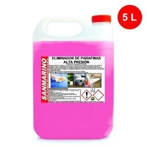 PARAFFINS REMOVER HIGH PRESSURE: 5, 12 AND 25 L.
