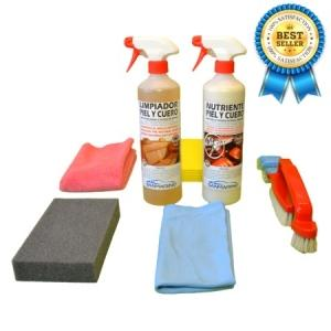 PROFESSIONAL LEATHER UPHOLSTERY CLEANING KIT 750 ML.