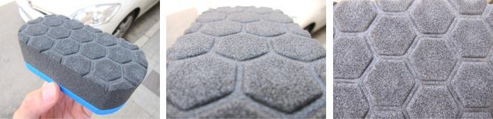 Esponjas aplicadora para abrillantar neumáticos y contornos.